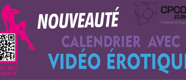 Calendrier personnalisable flashcode