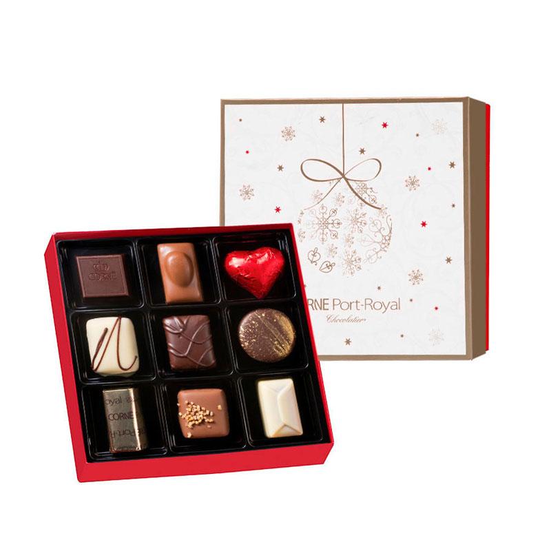 ballotin publicitaires de chocolats