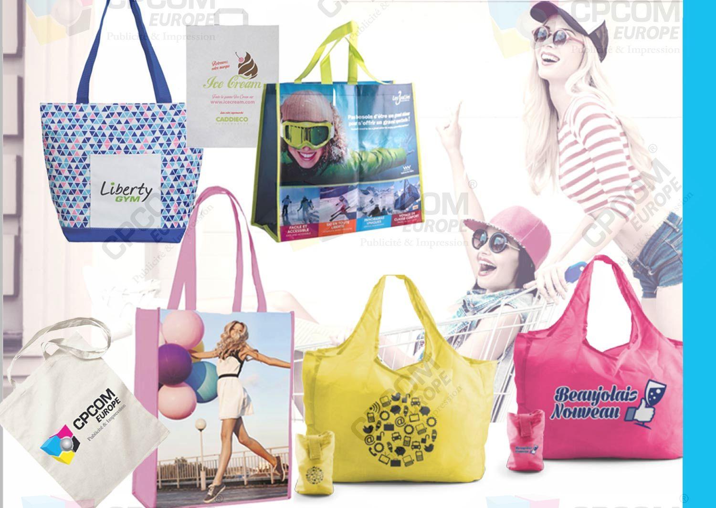 Sac shopping personnalisé : l'alternative aux sacs en plastique !