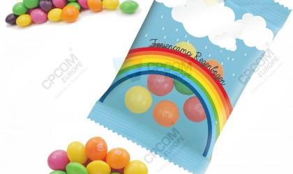 Bonbons skittles publicitaires