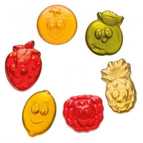 Bonbon gélifié aux fruits Haribo personnalisé Fruitilicious