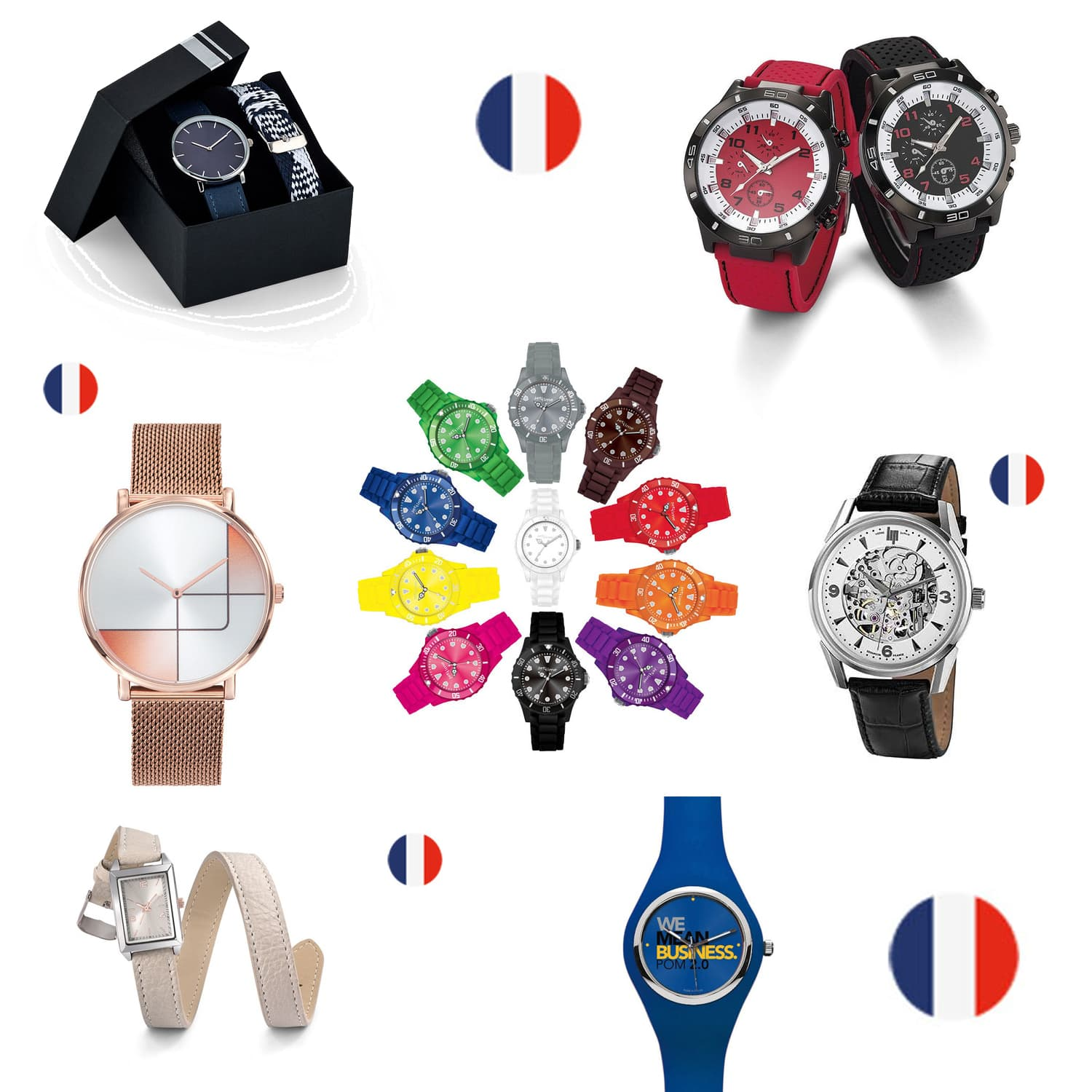 Montres personnalisées Made in France