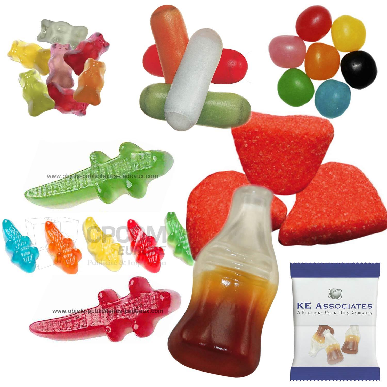 Vous recherchez des bonbons publicitaires Haribo ?